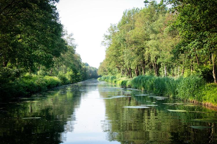 Overijssels Canal between Raalte and Heeten